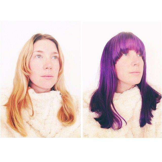 Morning #117 #treyummy #purple #superhero #color #happy #play #makeportraits #diptych