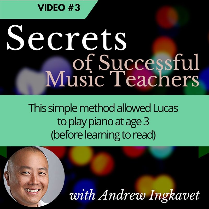 Free video for music teachers discusses problem with most