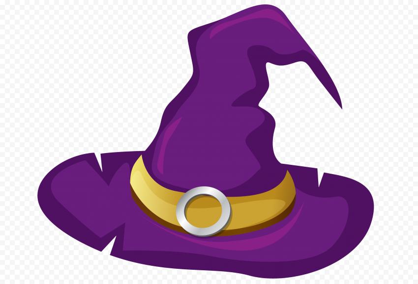 Hd Purple Witch Hat Illustration Cartoon Clipart Halloween Png Cartoon Clip Art Clip Art Witch Hat