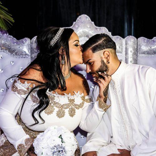 Exclu Sarah Fraisou Les Anges 8 Fiancailles Feeriques En Photos Et Video Photo Mariage Mariage Musulman Mariage Arabe