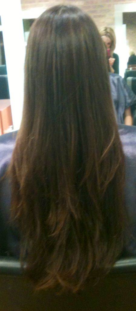 Long straight hair with layers...waiting for mine to get this long