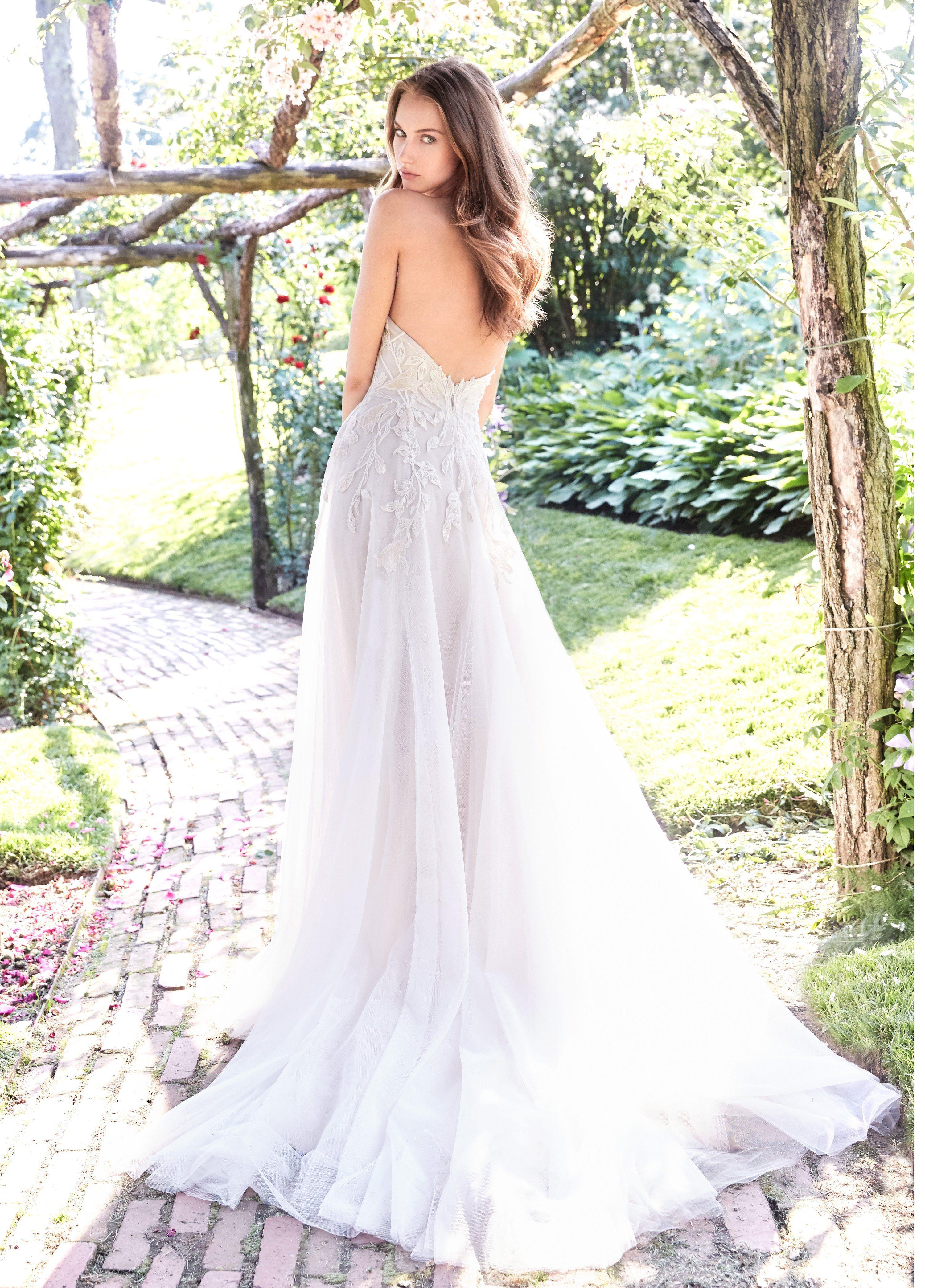 Ti Adora 7761 Aline wedding dress, Designer bridal