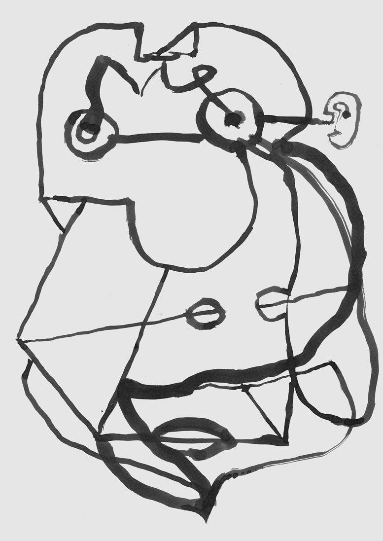 Was gäb ich für das Ohr | Drawing und Gesicht