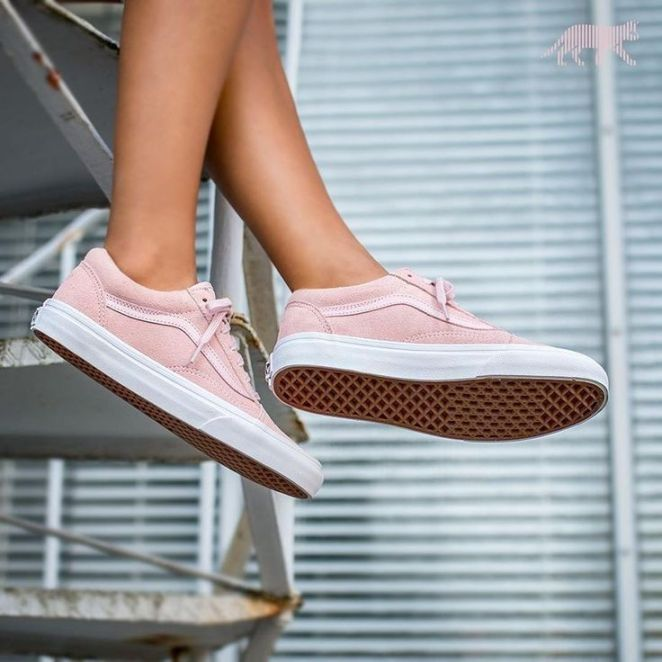 vans shoes pink suede