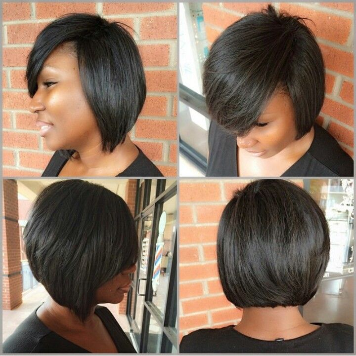Ebony bob hairstyles