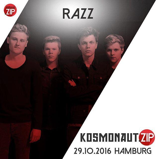Die Jungs von @officialrazzmusic rockten diesen Sommer schon fleißig durch die Festivalsaison. Am 29. Oktober bringen sie auch uns beim Kosmonaut.zip zum Ausrasten! Der Link in unserer Bio bringt euch zu euren Tickets! #festivalszip