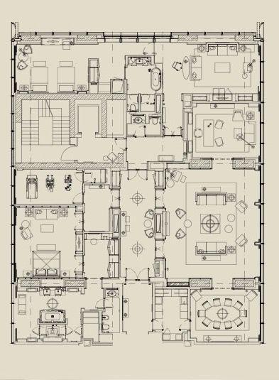 Hotel Room Floor Plan: Hotel Room Plan, House Layout Plans