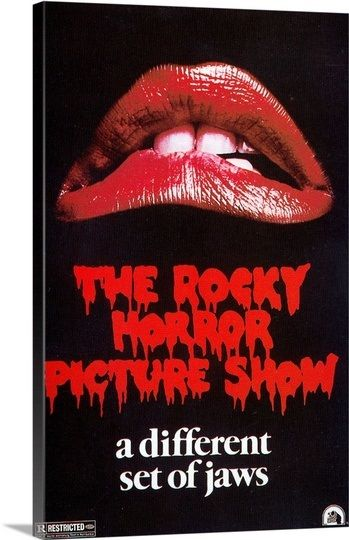 The Rocky Horror Picture Show - Movie Poster Solid-Faced Canvas Print