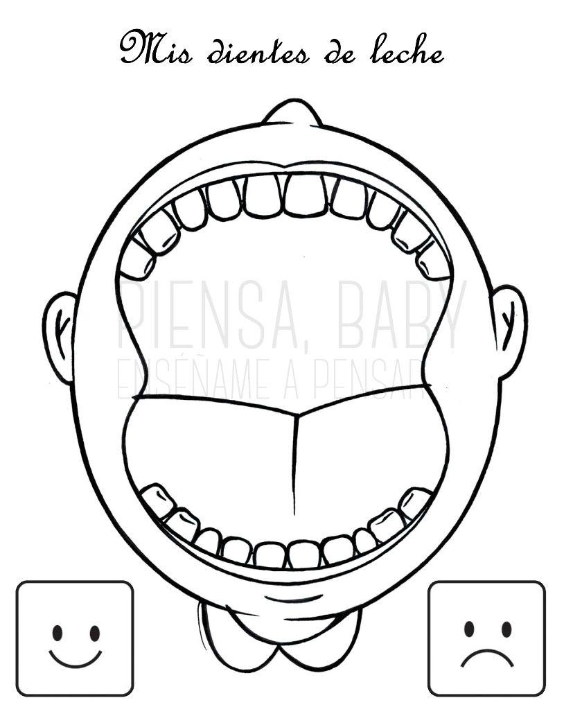 Enséñame a pensar: Higiene dental: Juegos Montessori para trabajarla ...