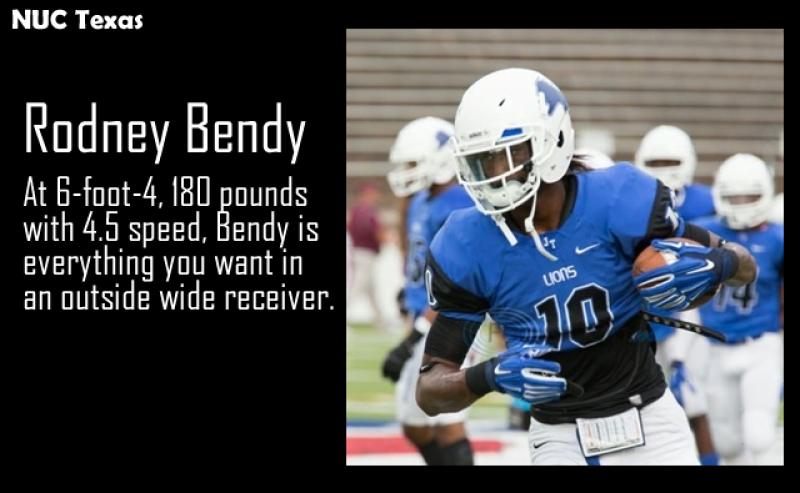 NUC Texas - Rodney Bendy - The Playmaker - Coach Dave