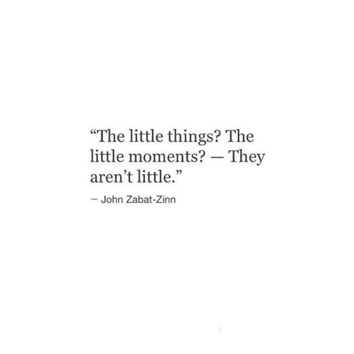 Little things matter - Relationship