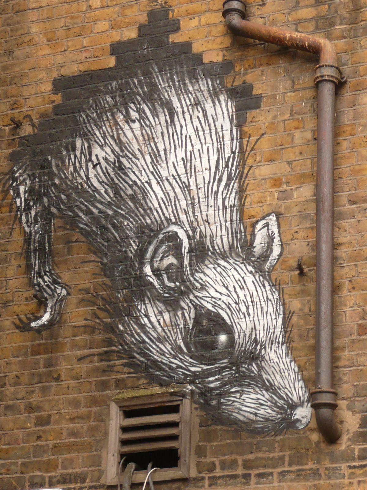 London graffiti artist
