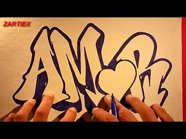 Como Hacer Letras 3d Dibujos De Amor Bonitos Faciles Para Regalar