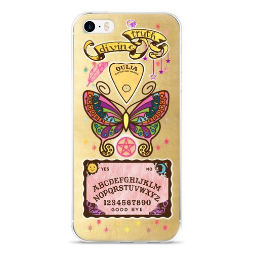 OUIJA BOARD BUTTERFLY COLORFUL PSYCHIC iphone case 5/5s SE, 6 Plus 6s Plus, 6 6s…