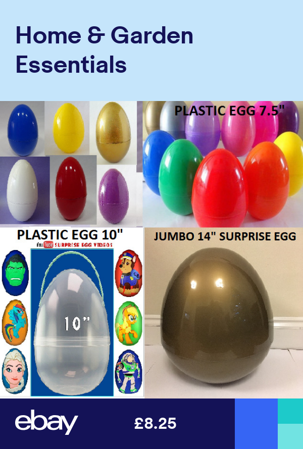 Large Plastic Egg Surprise Egg 7 51014 Giant Xmas Birthday Kids Party Eggs Surprise Egg Birthday Party Kids Birthday