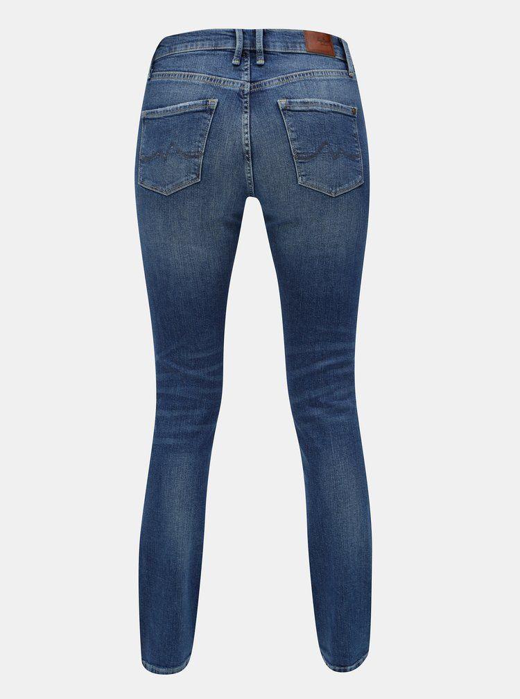 cc7edd8f974 Modré dámské slim džíny Pepe Jeans
