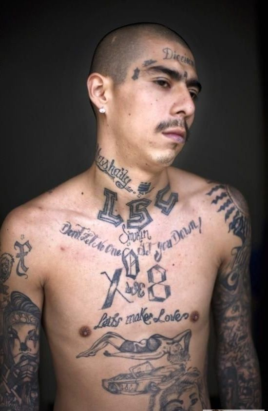 20 Dark and Real Prison Tattoo Designs | GANG RELATED