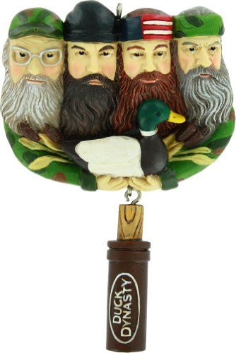 Duck Dynasty Christmas Ornaments | Fear The Beards Blog | Duck ...