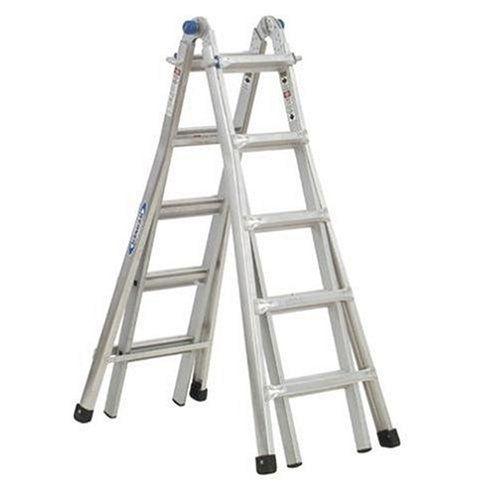 Werner Mt 17 300 Pound Duty Rating Telescoping Multi Ladder 17 Foot Multi Ladder Best Ladder Ladder