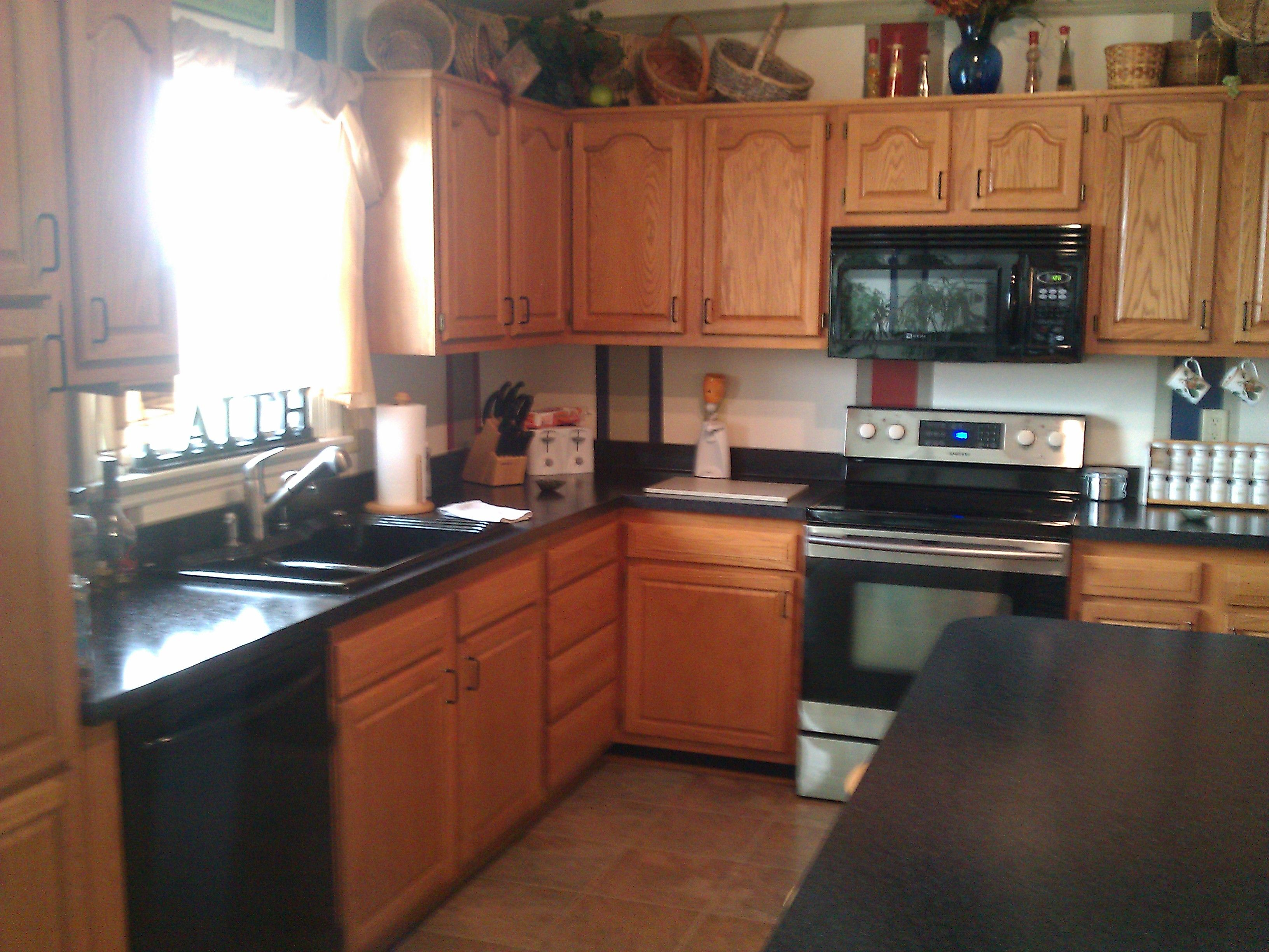 new countertops all the way around...2012