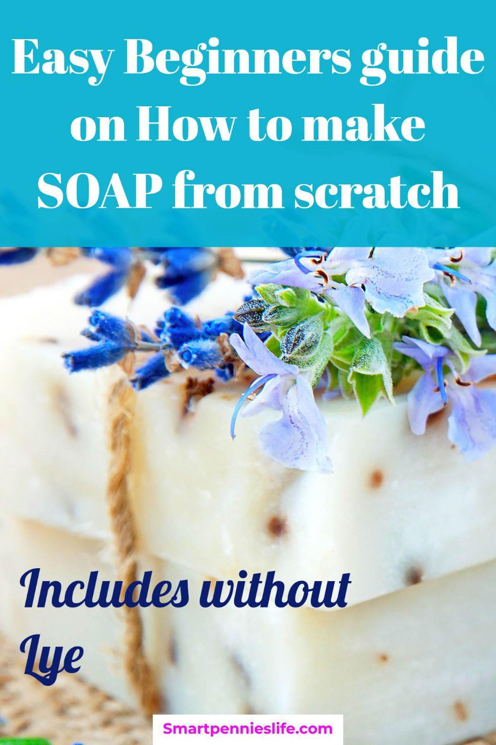 How to make soap includes without lye