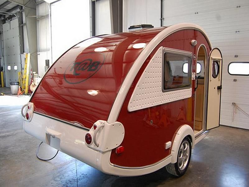 Wall Colour Inspiration: Travelling, : Unique And Modern Small Travel Trailer With