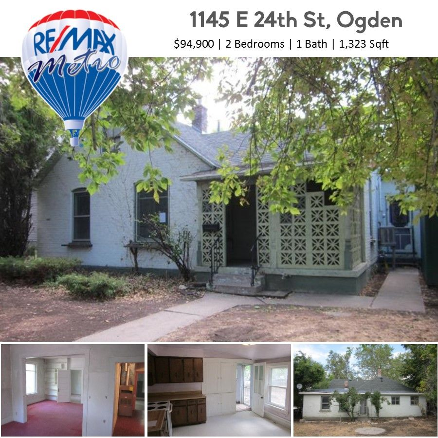 *NEW LISTING* 1145 E 24th St, Ogden 2 Bedrooms 1 Bath