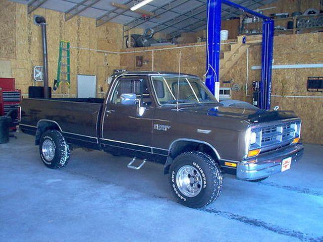 Ram Custom 81 150 Dodge