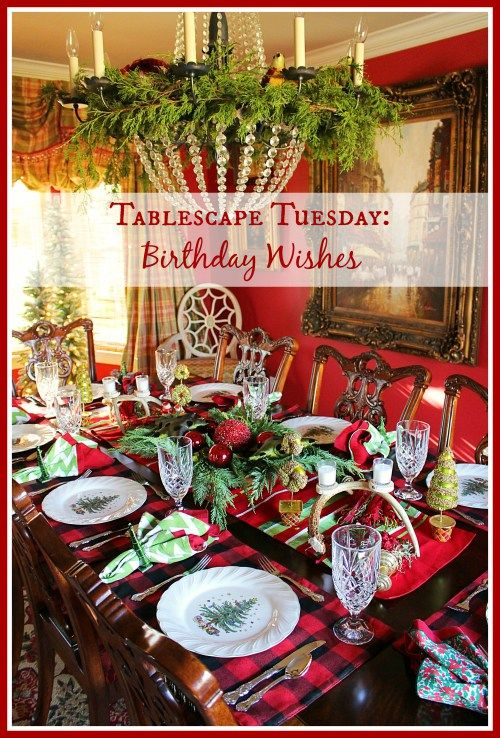 Tablescape Tuesday: Birthday Wishes – Everyday Living