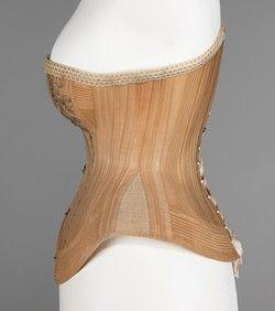 188587 embroidered corset  corset fashion victorian