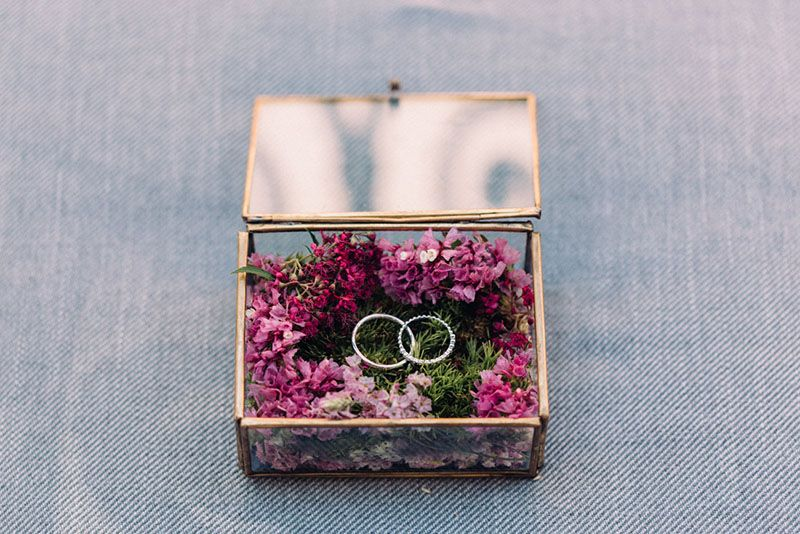 clara julien mariage parisien diy urne mariage et decoration mariage boheme
