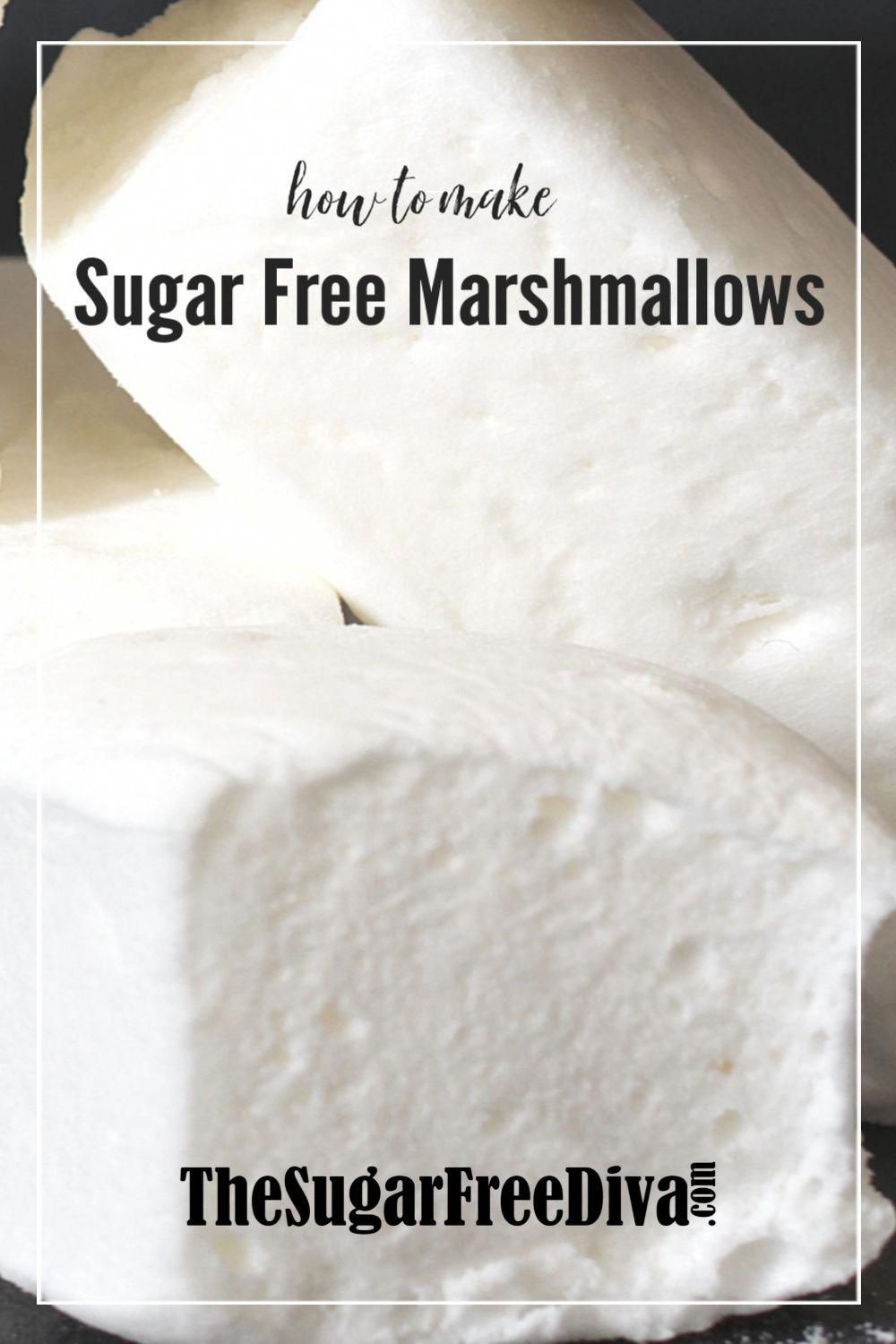 YUM! This is how to make SUGAR FREE MARSHMALLOWS! From