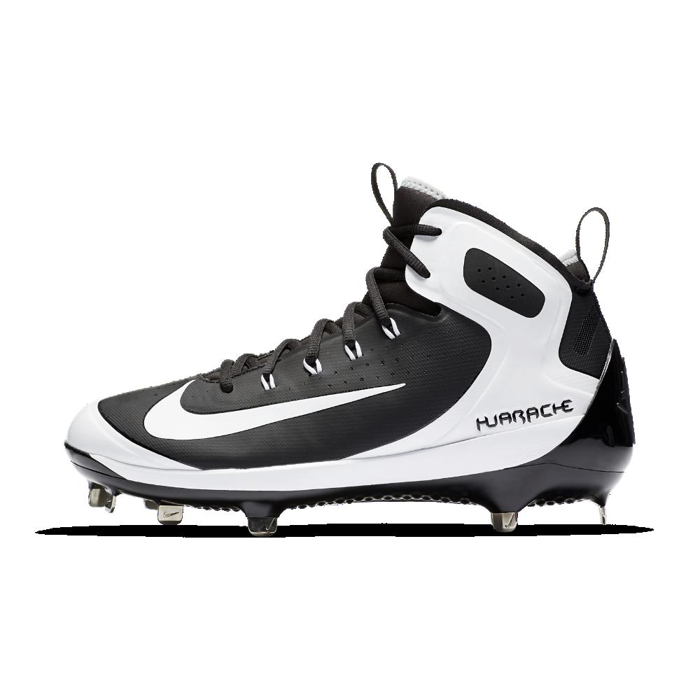 Nike Alpha Huarache Elite Men S Baseball Cleats Size 12 5 Black Baseball Cleats Cleats Huaraches