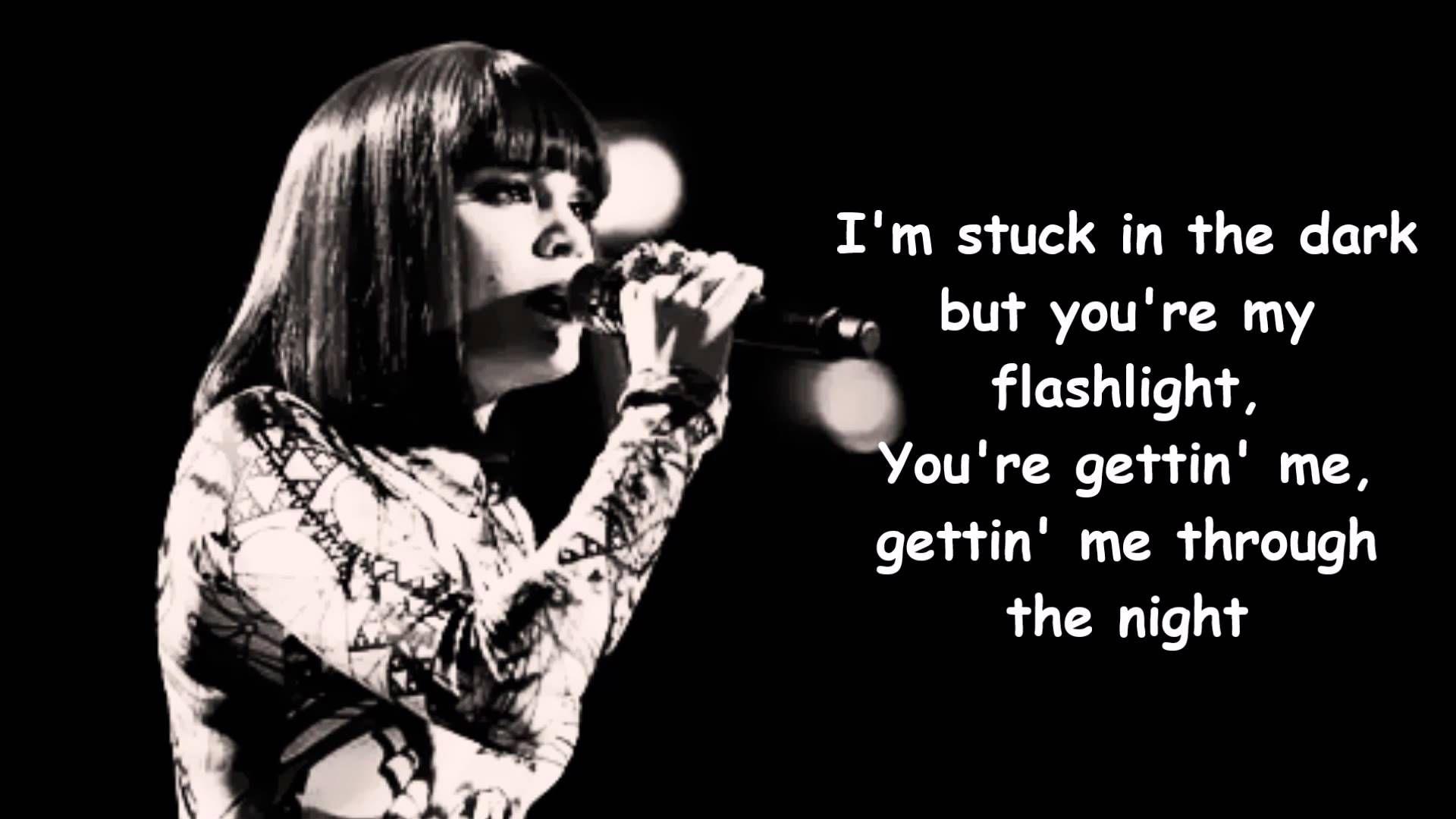 Jessie J - Flashlight lyrics | ♩♪Musika♫♬ | Flashlight lyrics