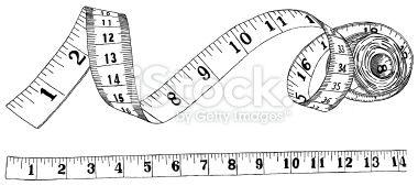 28+ Tape measure border clipart info