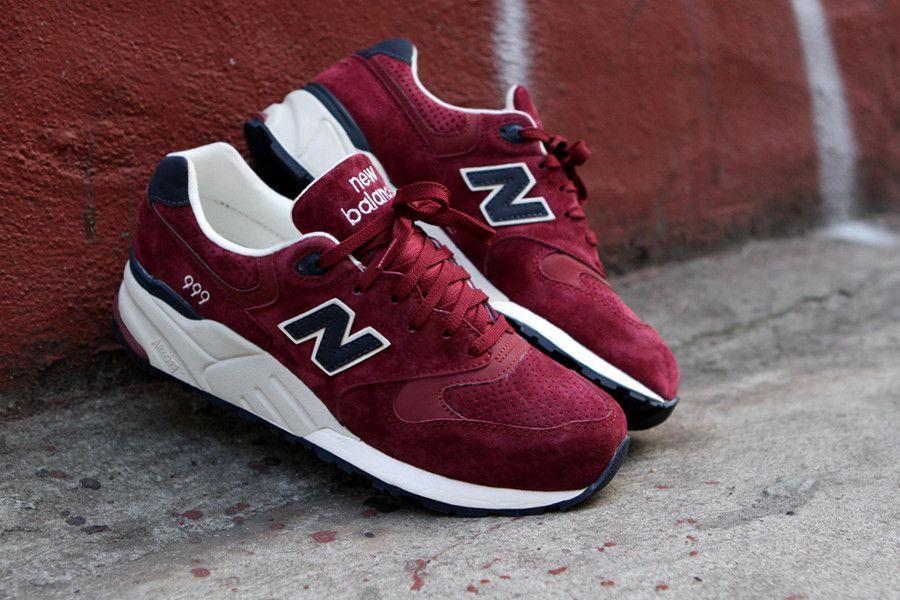 NEW BALANCE 999 - Burgundy | Sneaker | Kith NYC