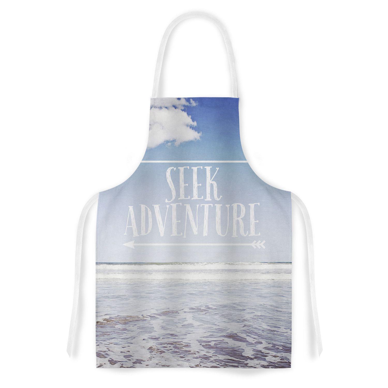 """Susannah Tucker """"Seek Adventure"""" Beach Artistic Apron"""