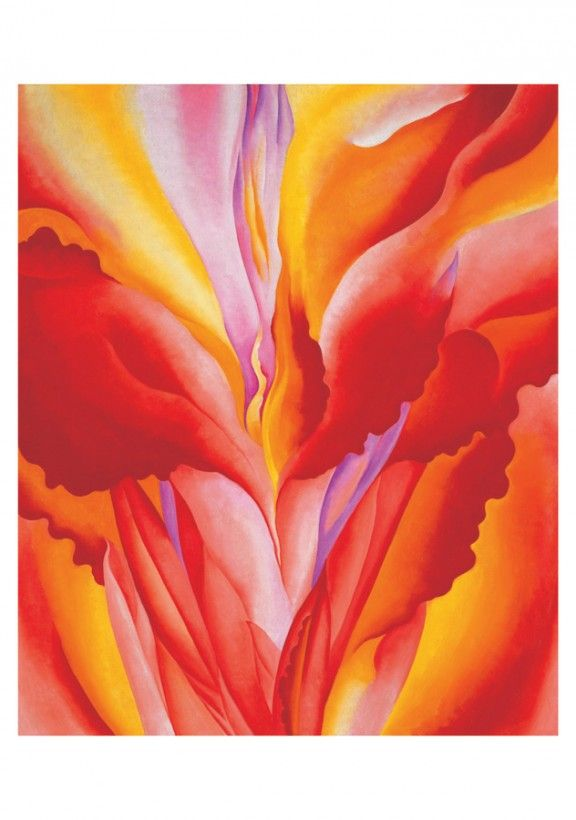 Georgia O Keeffe Boxed Cards Abstract Flowers Ghost Ranch Georgia O Keefe Art Georgia O Keeffe O Keeffe Paintings