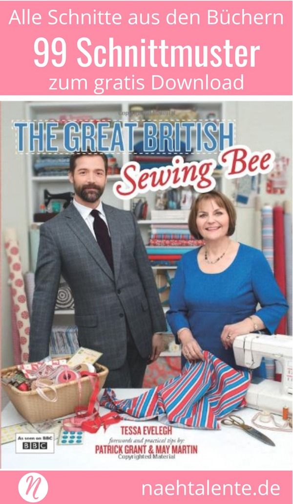 Great British Sewing Bee - Schnittmuster Download #freebookschnittmuster