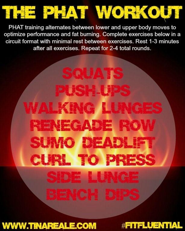 Move It Monday Getting Phat Tina Reale Yoga Circuit Workout Workout Cardio Circuit