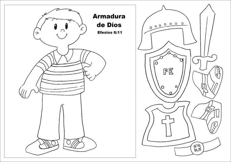 La Armadura De Dios | La Armadura de Dios | Biblia | Pinterest ...