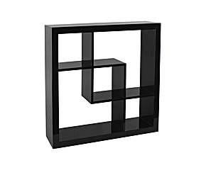 "Półka ścienna ""Cubicle"", czarna"