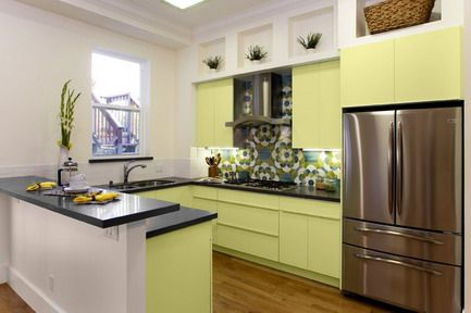 Small Kitchen Design Layout   ... Small Modern Kitchen Interior Design Layouts Ideas Small Kitchen