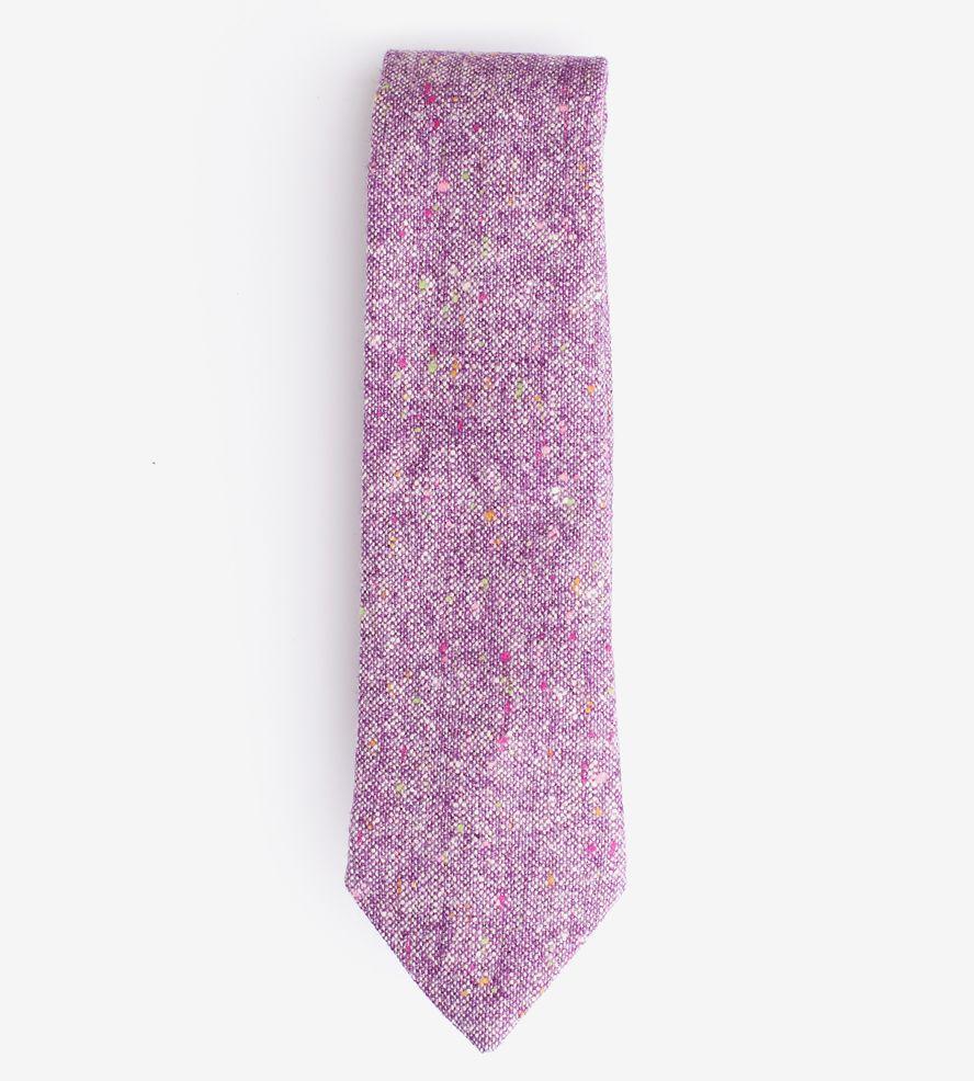 471bf314e2cc Wool Tweed Necktie, Purple   Handsome and debonair, this 100% wool necktie  will make you lo...   Neckties