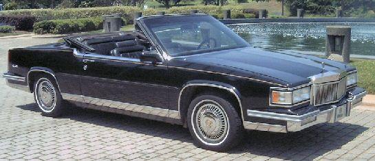 1988 Cadillac Coupe DeVille Convertible | Collectible Cars ...