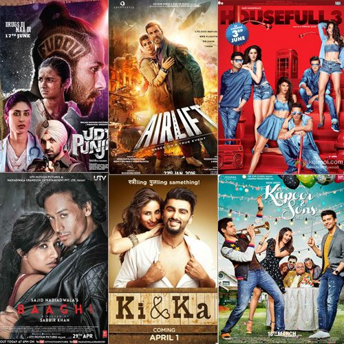 Here Is The List Of Top 10 Highest Grossing Bollywood Movies 2016 In Bollywood Movies Movies 2016 Movies