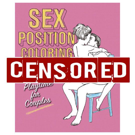 Top Selling Adult Coloring Book Kit 101 Sex Positions By GrownFolk