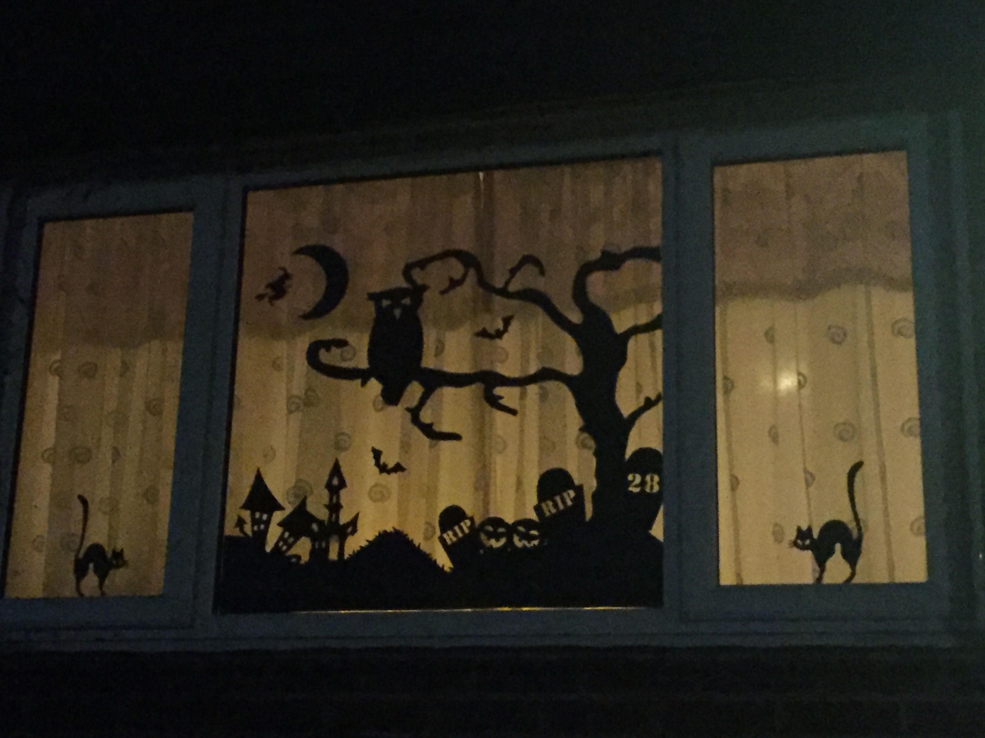 Halloween Window Decal