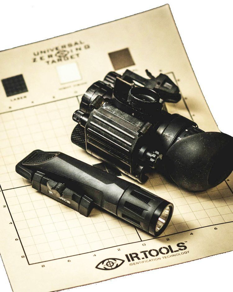ALL firearm optics//sights Universal ZEROING TARGETS IR, THERMAL, AND LASER