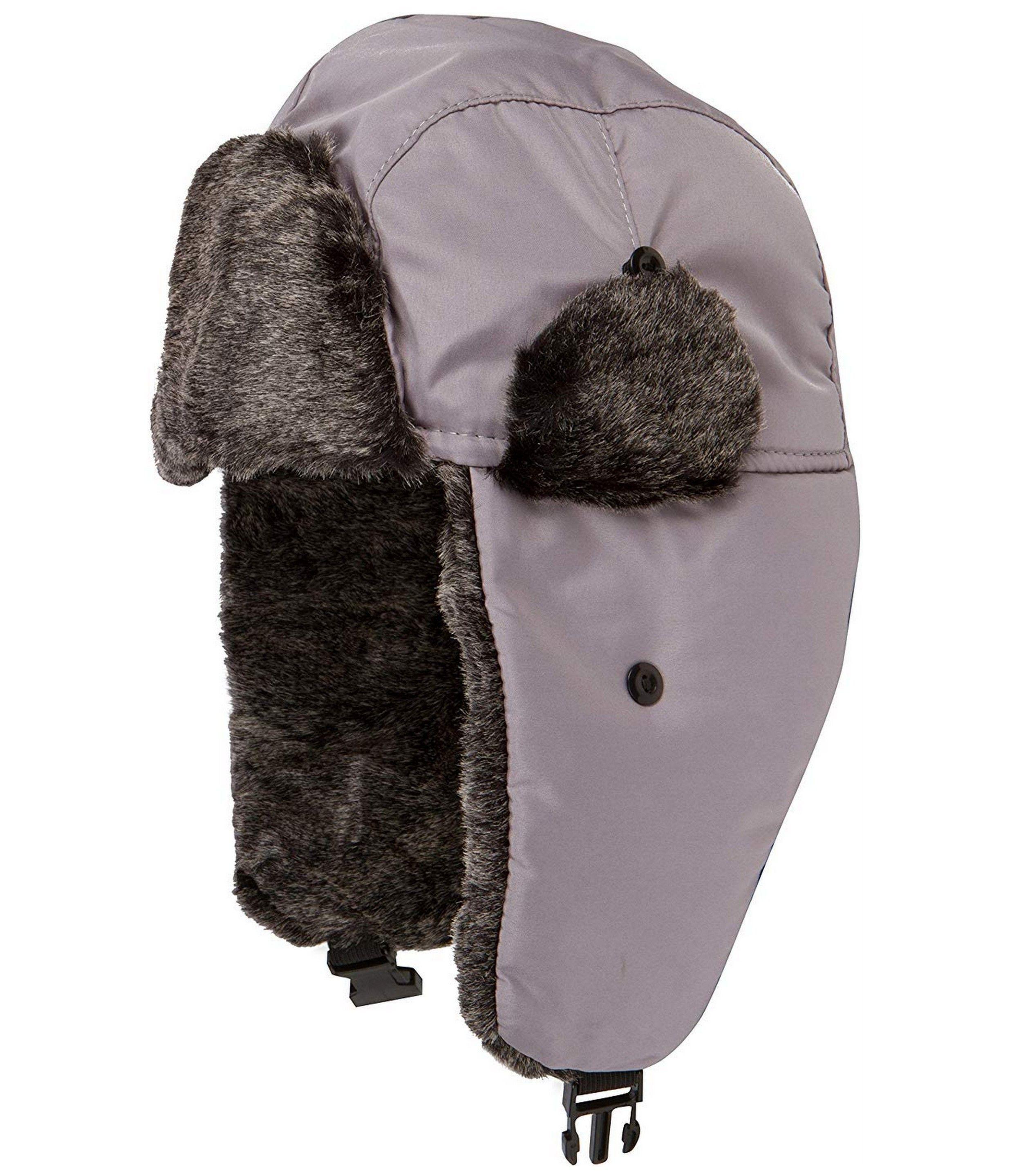 8a1f833b67e Sakkas Charlie Unisex Faux Fur Nylon Trooper Hat